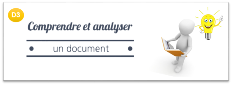Comprendre et analyser un document